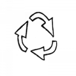 Recycle icon kopi